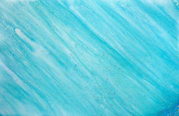 Мраморная синяя абстрактная волна Premium Фотографии