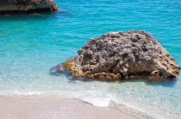 Marina piccola in capri island, italy Premium Photo