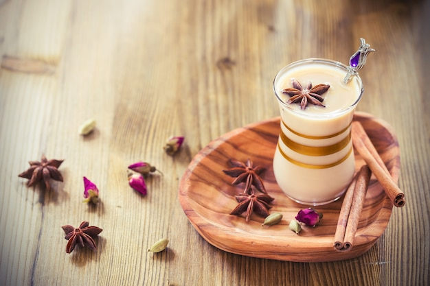 Masala tea Premium Photo