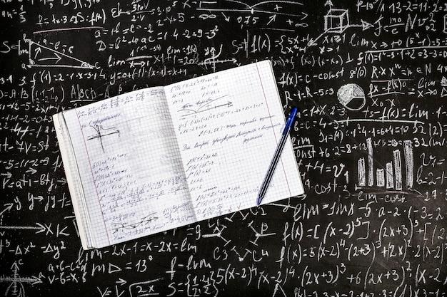 Math and physics examples Premium Photo