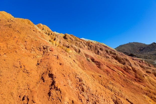 Mazarron murcia old mine in spain Premium Photo