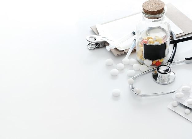 Лечебная композиция с таблетками Бесплатные Фотографии