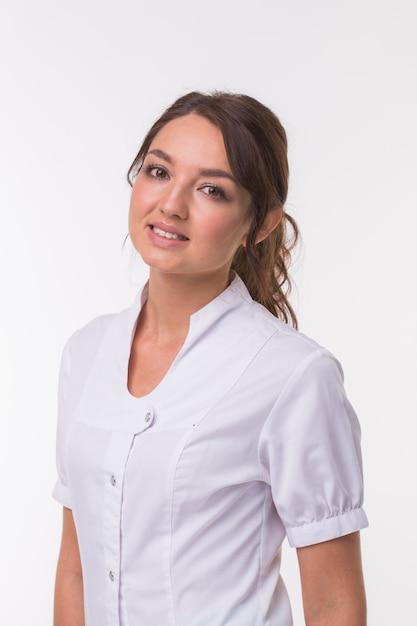 Врач врач женщина Premium Фотографии