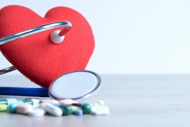 Medical stethoscope. medicine concept Premium Photo