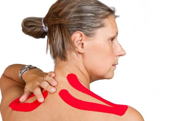 Medical taping Premium Photo