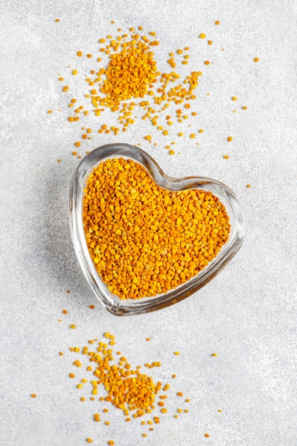 Polline d'api di medicina alimentare Foto Gratuite