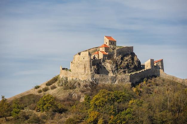 Medieval rupea fortress in romania Premium Photo