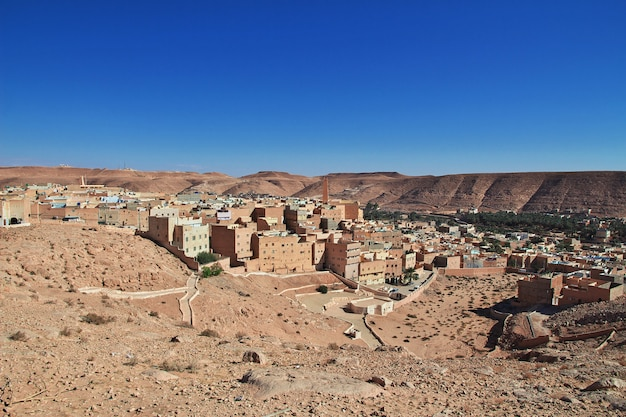 Medina of el atteuf city, sahara desert, algeria Premium Photo