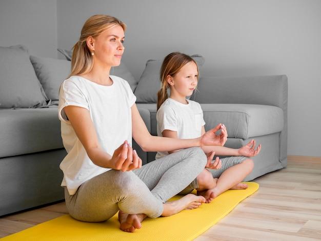 Медитация дома Бесплатные Фотографии