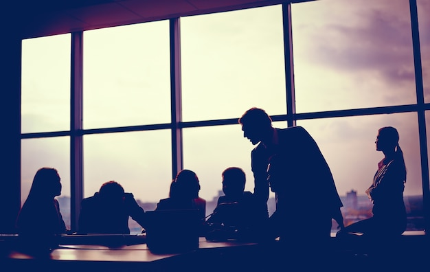 Meeting close to the window Free Photo