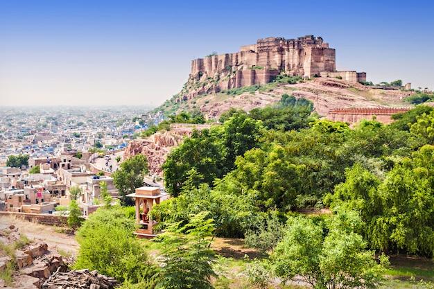 Mehrangarh fort, jodhpur Premium Photo