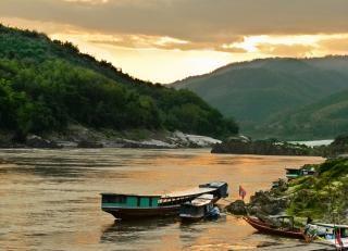Mekong river Free Photo