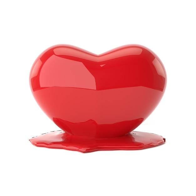 Melting heart Premium Photo
