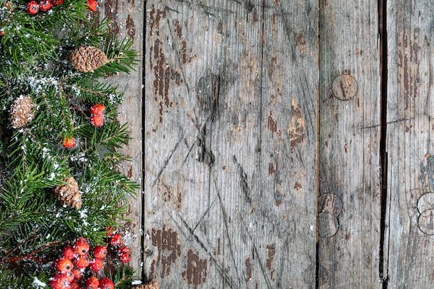 Веселого рождества и счастливых праздников приветствие фон Premium Фотографии