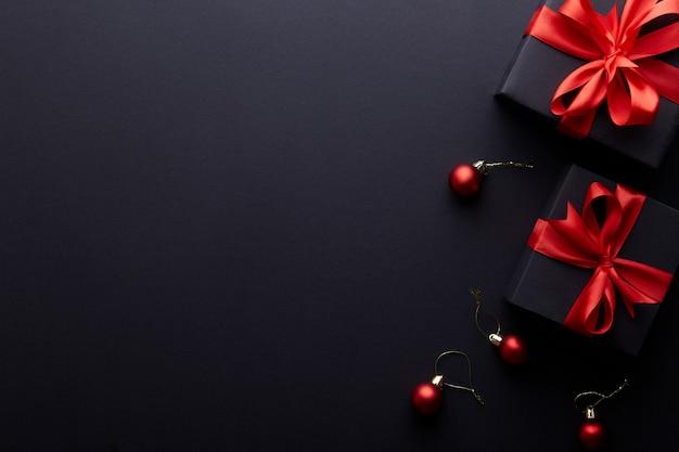 メリークリスマス、ハッピーホリデーグリーティングカード、フレーム Premium写真