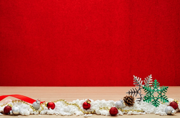 Merry new year 2020 christmas with celebration decorations Premium Photo