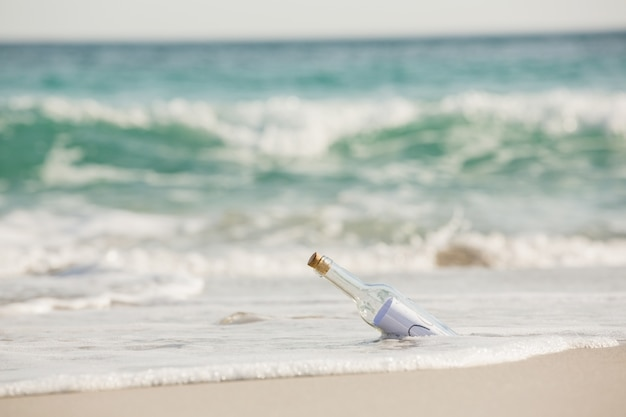 Message in a bottle Free Photo