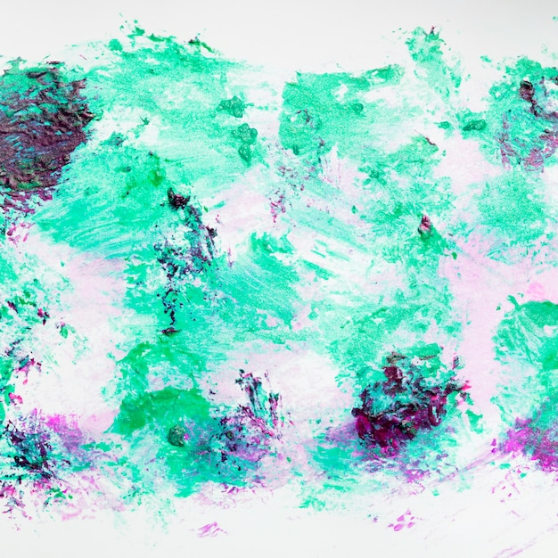Messy colorful abstract smudged nail polish background Free Photo