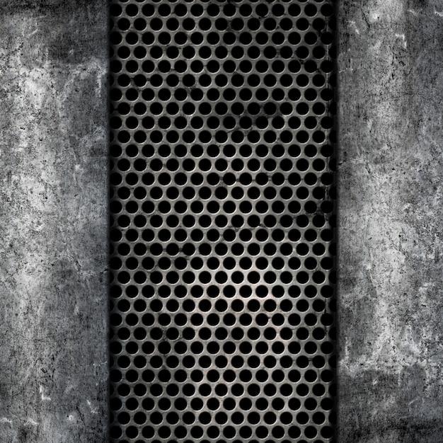 Металлический и бетонный фон Бесплатные Фотографии