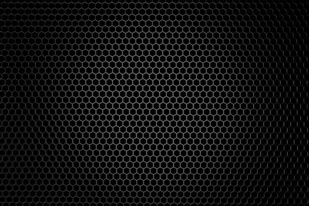 Metal background. 3d rendering. Premium Photo