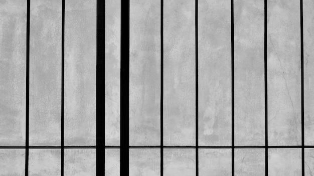 Metal cage in the jail Premium Photo