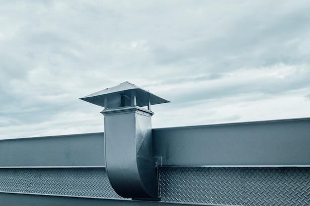 Metal chimney Free Photo