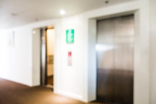 Porta di metallo ascensori sfocate Foto Gratuite