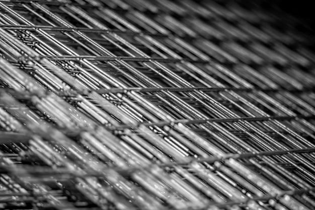 Metal Grille For Reinforced Concrete Rebar Steel Mesh For
