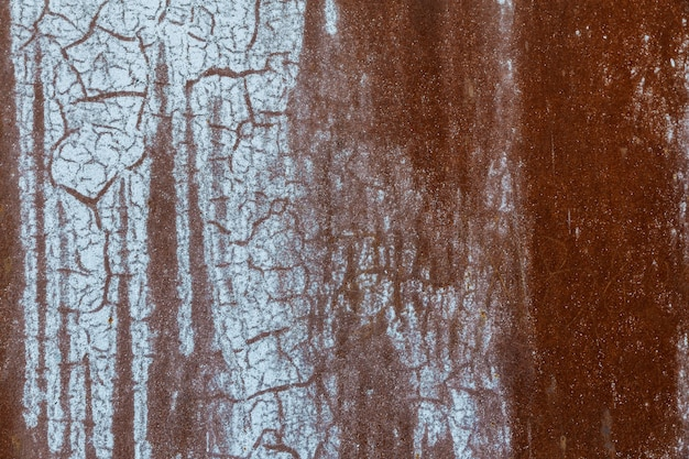Metal grunge surface background rusty metal plate grunge background Premium Photo
