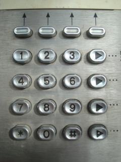 Metal phone dial pad Photo | Free Download