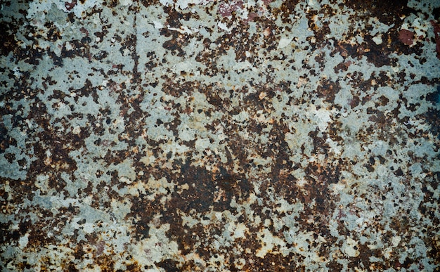 Metal rust background, decay steel, metal texture with scratch and crack Premium Photo