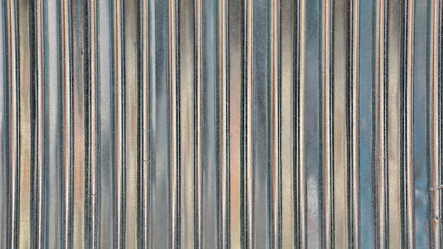 Metal sheet roof texture. abstract background. Premium Photo