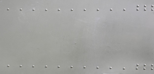 Metal surface of military aircraft Premium Photo
