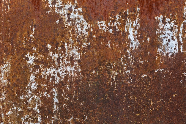 Metal texture with blue paint and rust Premium Photo