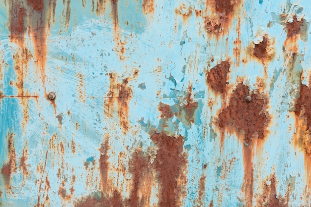 Metal texture with scratches and cracks Premium Photo