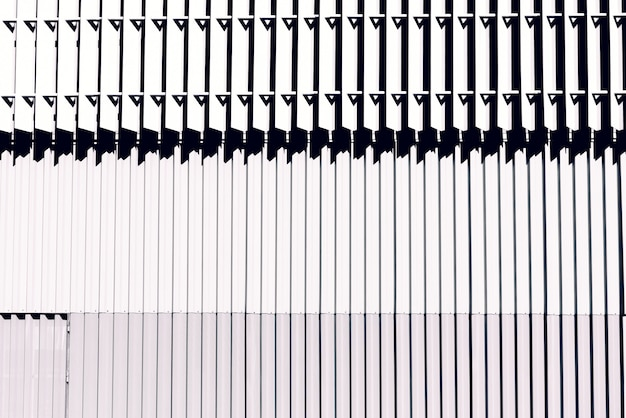 Metal wall with white lines. Premium Photo