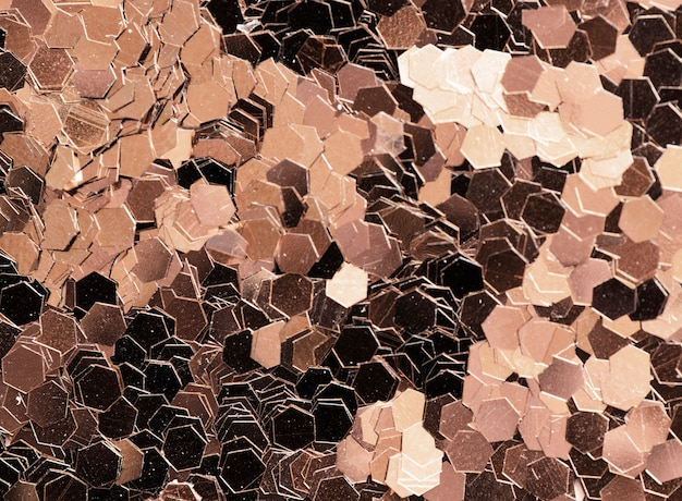 Metalic sequin textured background abstract Free Photo