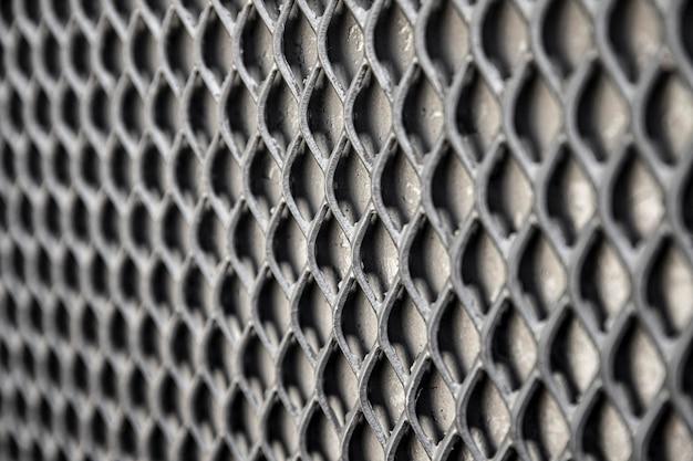 회색 톤의 금속 배경 울타리 무료 사진