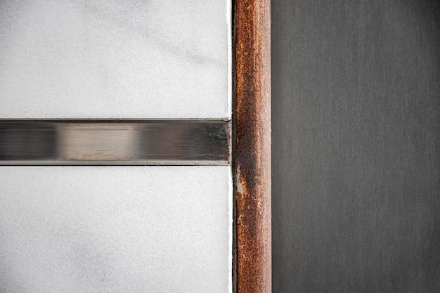 金属の背景モダンな抽象的な壁 無料写真