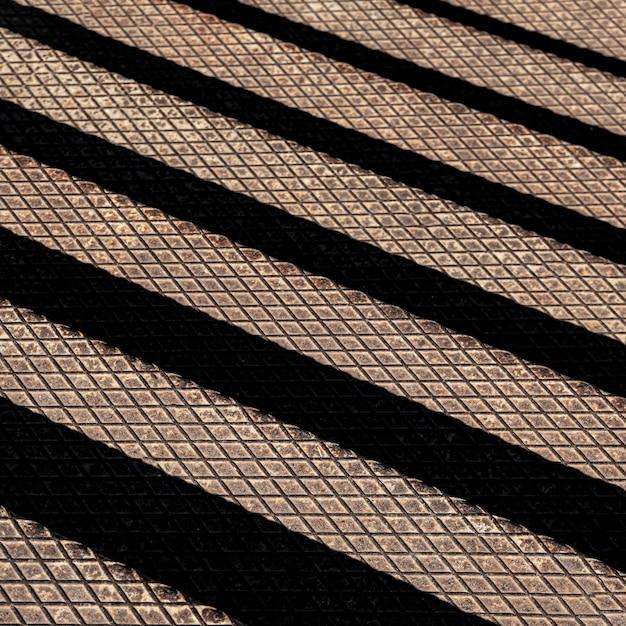 黒い線と金属の背景 無料写真