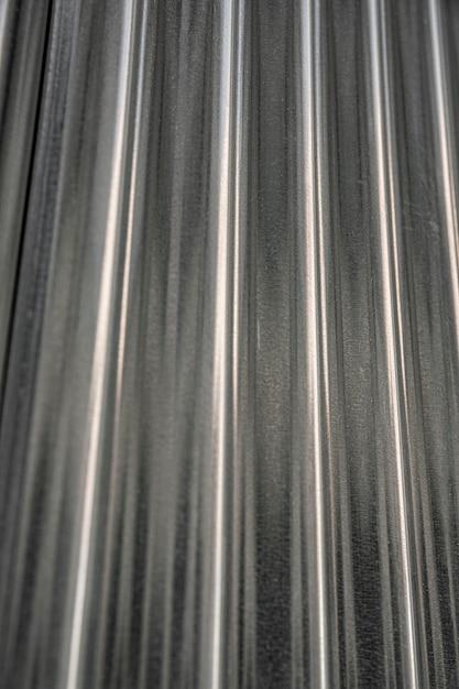 Sfondo metallico con linee verticali Foto Gratuite