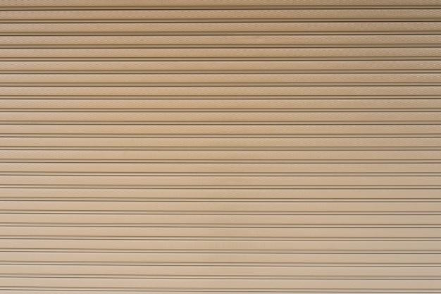 Metallic roller shutter door background background stripe Premium Photo