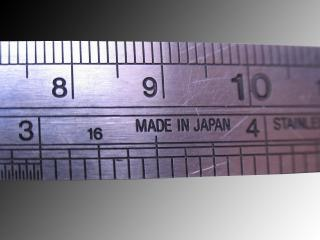 Metallic ruler Free Photo