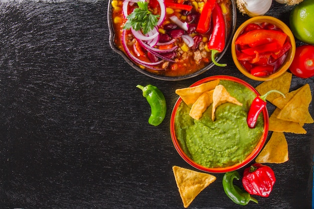 Mexican fresh ingredients Free Photo