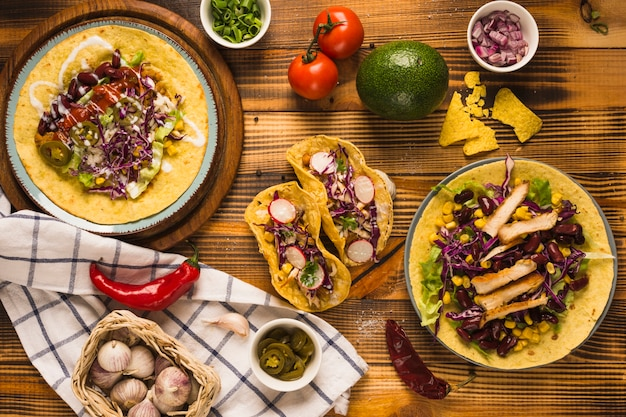 Mexican meal Free Photo