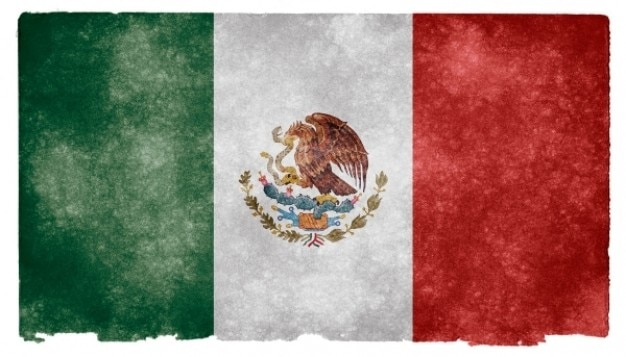 mexico grunge flag Free Photo