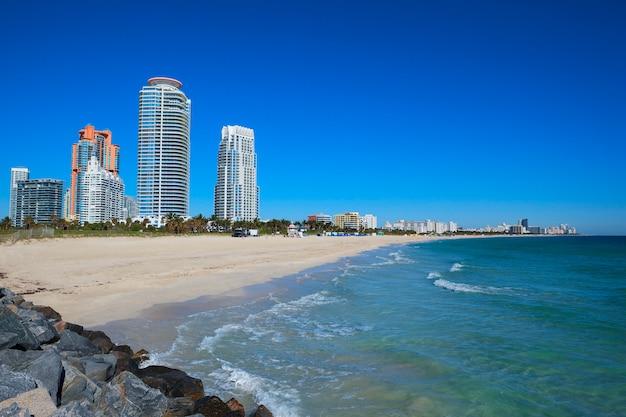 Майами-бич во флориде, сша Premium Фотографии