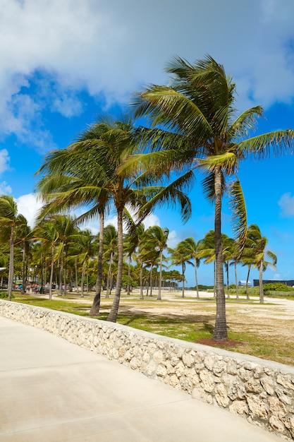 Miami south beach entrance florida us Premium Photo