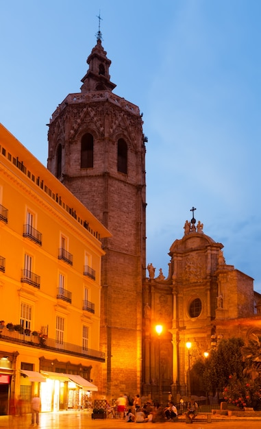 Micalet tower and cathedral. valencia, spain Free Photo