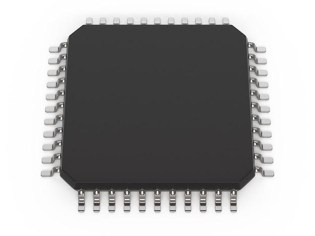 Microchip unit Premium Photo